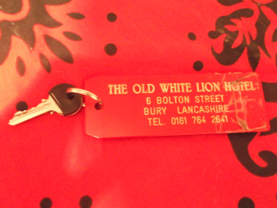 white lion bury