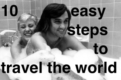 travelling the world is easy