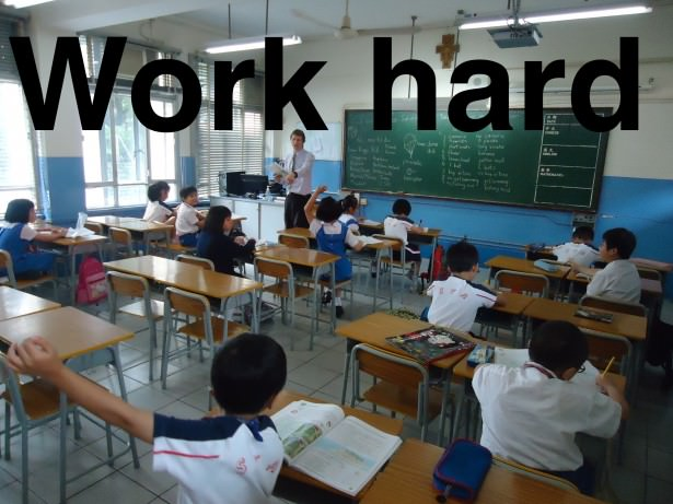 work hard to travel the world