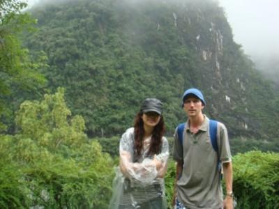 My Taiwanese friend, Eva Chung.