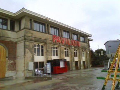 back of pavilion theatre
