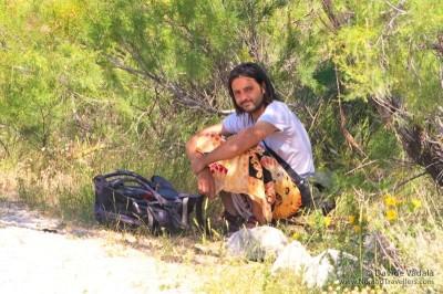 World Travellers: Davide Vadala of Nomad Travellers.