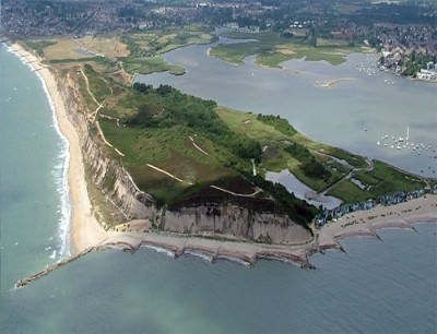 Hengistbury Head in the south of England. This is the place I drove to with the intention of killing myself.