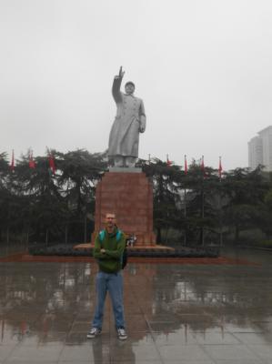 mao statue hunan