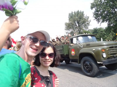 national day parade 2013 pyongyang