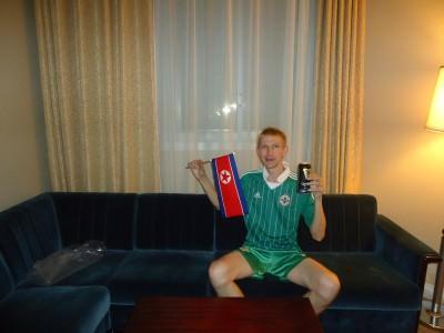 guinness pyongyang hotel room