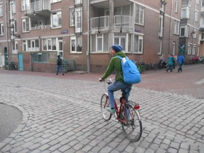 jonny blair cycling amsterdam