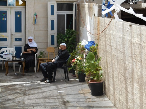 Some of the Druze community in Isfiya, Israel.