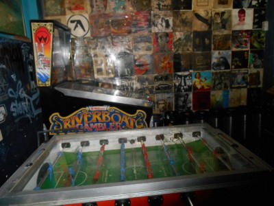 Table football in Sira Bar.
