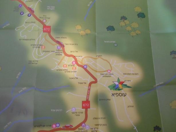 druze village isfiya map