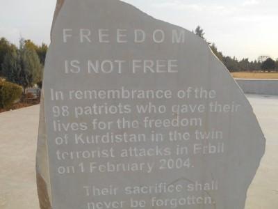 obelisk memorial erbil