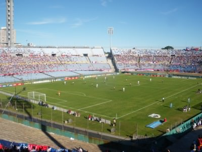 Nacional v. Las Ramplas in the Estadio Centenario.