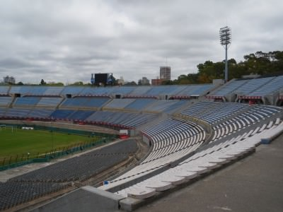 Inside the Estadio Centenario on a non matchday.