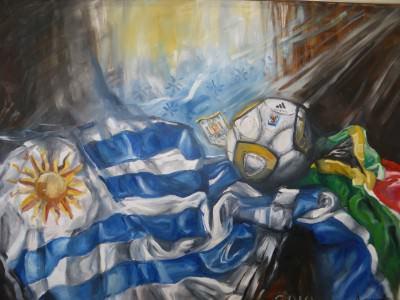 uruguay flag museo