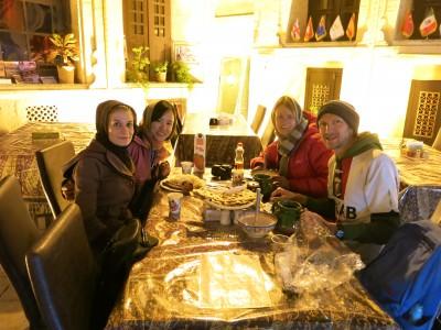 dinner at niayesh hotel