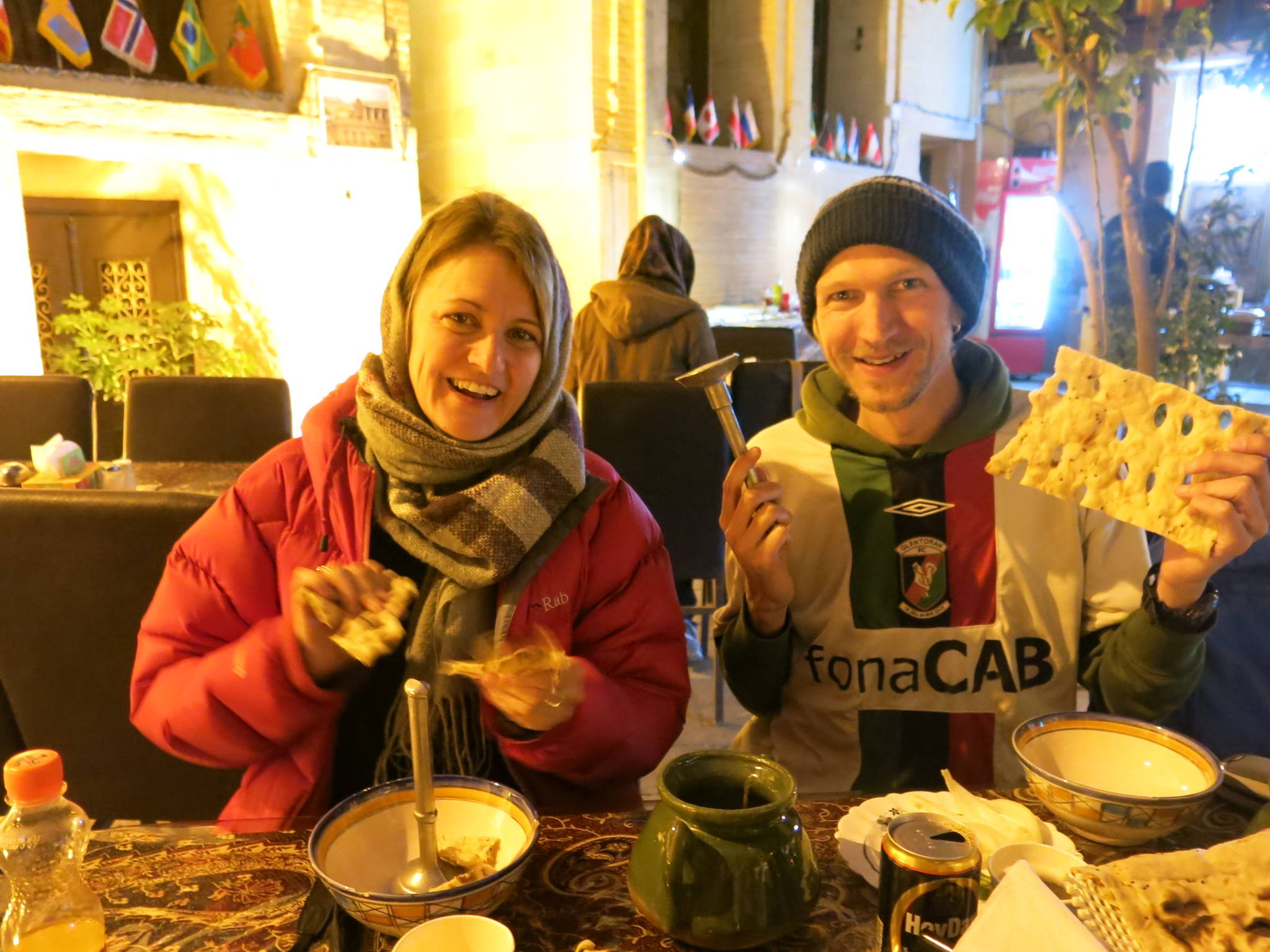 christmas dinner in shiraz