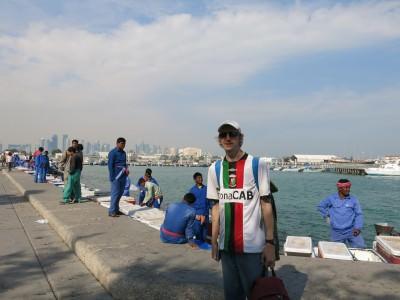 doha qatar seafront jonny blair