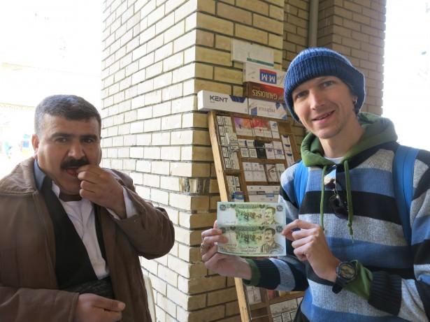 erbil bazaar saddam banknotes