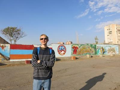 armenia football murals