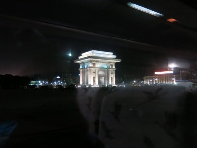 pyongyang by night