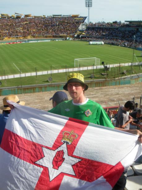 montevideo uruguay norn iron flag
