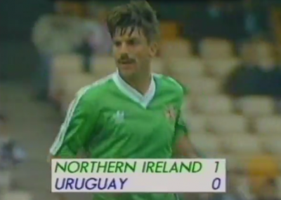northern ireland beat uruguay 1-0 1990