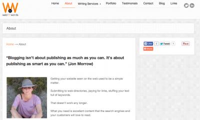 julie mcnamee blog