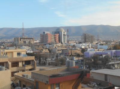 view sulaymaniyeh iraq