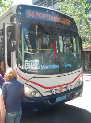 bus to stadium montevideo