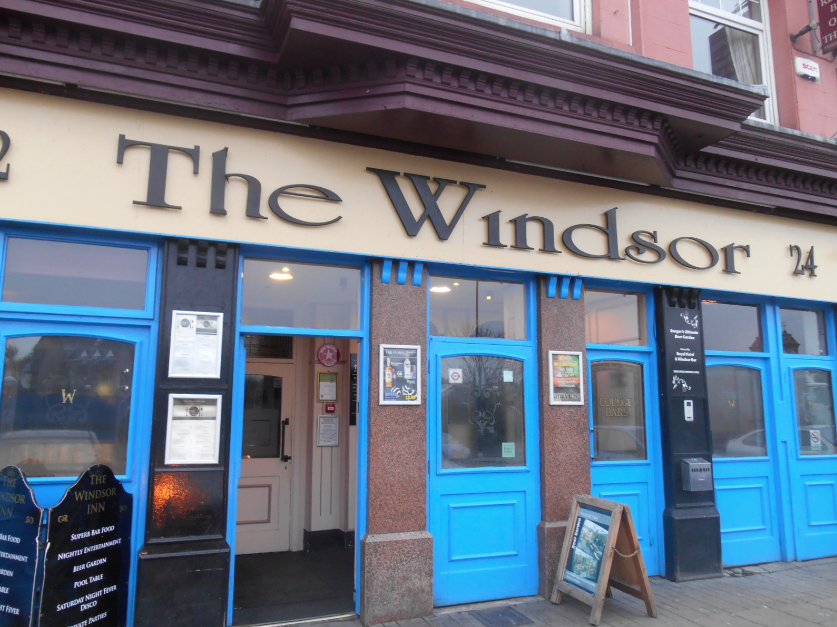 windsor bar bangor local pub