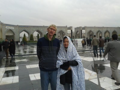 imam reza iran backpacking