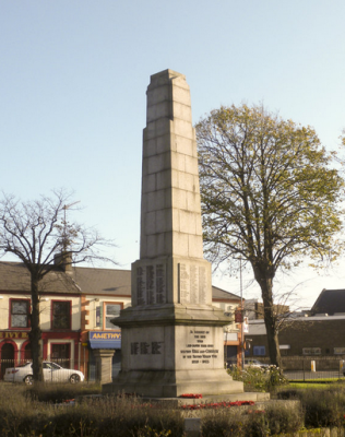 Ards War Memorial, something to ponder.