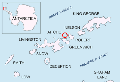 I choose my top 5 Islands in Antarctica.