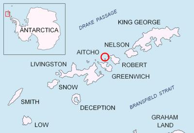 I choose my top 5 Islands in Antarctica.