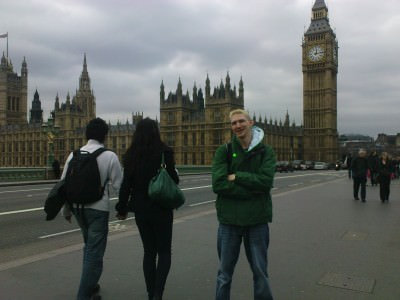 Ticking off all the major London sights.
