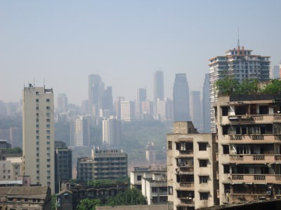 chongqing skyline china