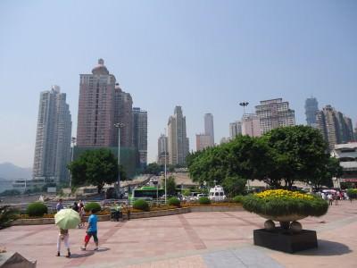 chaotianmen square china chongqing china