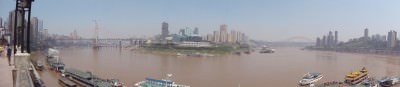 rivers meet in chongqing