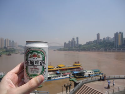 chongqing rivers meet beer