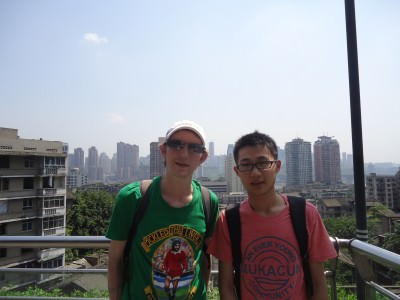 backpacking chongqing