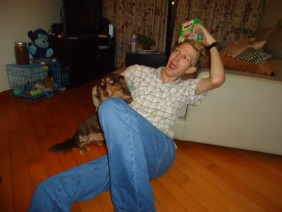 That time in Hong Kong that I shared a flat with a dog, Milo!