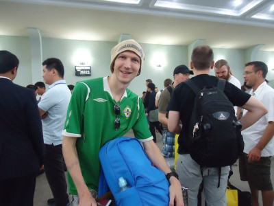northern ireland shirt backpacker