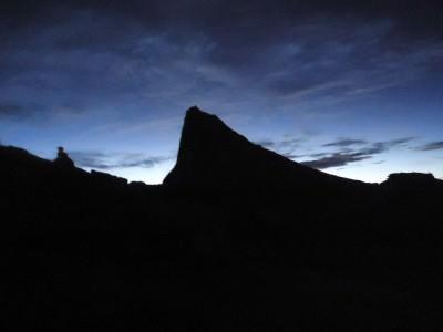 lows peak pre sunrise