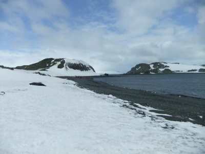 backpacking in antarctica