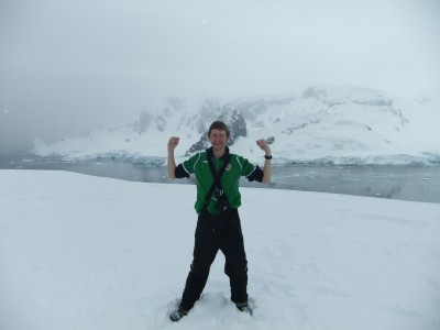 cuverville hiking antarctica