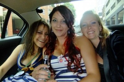 Kaz on the left here, with Teigan and Kate. Good times girls!