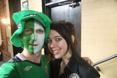 St. Patricks' Day with Bianca, 2011.