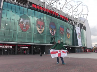 Old Trafford, Manchester.