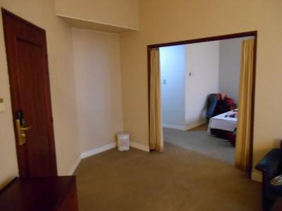 bedroom hostel north korea