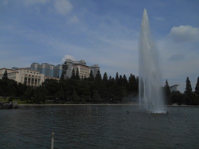 The Mansudae Fountain Park.